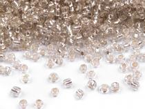 "Glass Seed Beads ""Rocaille"" 12/0 with visible puling hole 2mm"