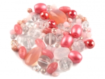 Mixed Rumsh Glass Beads