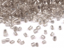 Glass Bugle Seed Beads 11/0 - 2 mm cut