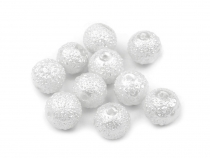 Frosted Dust Beads Ø8 mm