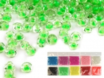 Glass Seed Beads Rocaille 12/0 - 2 mm with colorful pulling hole