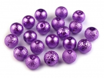 Round Glass Pearl Imitation Beads Ø10 mm Stardust