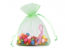 Wooden Beads mix with Elastic Band in a Bag