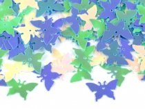 Butterfly Sequins 12x17 mm