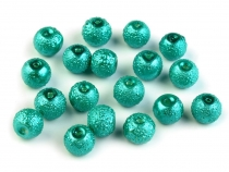 Round Glass Pearl Imitation Beads Ø7 mm Stardust