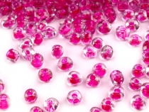 "Glass Seed Beads ""Rocaille"" COLORFUL PULLING HOLE 2mm"