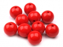 Plastic Round Beads Color  Ø16 mm