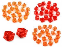 Acrylic Faceted Beads 12x12 mm Cube