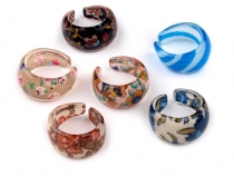 Plastic Ring with Design