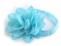 Elastic Headband with Flower
