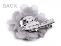 Flower Brooch Ø5 cm with Rhinestones