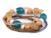 Bead Stretch Bracelet Set