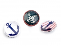 Interchangeable Snap Charm Ø18 mm Anchor