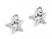 Charm Pendant 12x12 mm Star