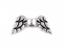 Metal Jewellery Spacer Wings 7x15 mm