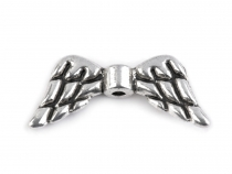 Metal Jewellery Spacer Wings 9x19 mm