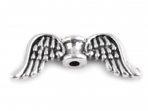 Metal Jewellery Spacer Wings 8x20 mm