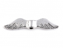 Metal Jewellery Spacer Wings 5x24 mm
