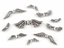 Metal Jewellery Spacer Wings Mix of sizes