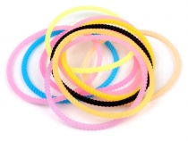 Glowing Silicone Hair Bands