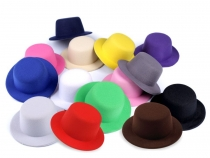 Mini Top Hat Fascinator Base for DIY decorating Ø13.5 cm