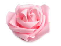 Foam Rose Decor Ø6 cm