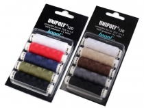 Universal Sewing Thread Unipoly set of 5 pcs