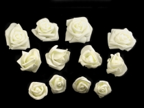 Decorative Foam Roses Ø4-6 cm mix