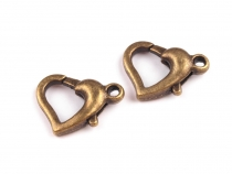Heart Clasp 10x14 mm