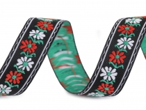 Folk Costume Patterned Ribbon 18 mm