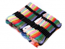 Embroidery Yarn type Mouline set 100pcs/8 m