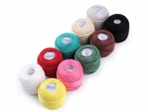 Embroidery Cotton Pearl Yarn NITARNA Czech Rep.
