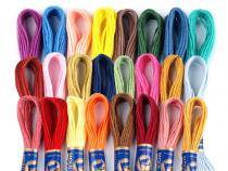 Cotton Embroidery Yarn Mouline NITARNA Czech Rep.