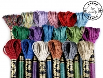 Embroidery Yarn DMC Mouliné Light Effects