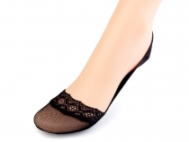 Ballerina Slipper Cotton Socks with Lace
