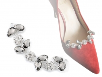 Crystal Adornment for Footwear