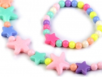 Children Set Necklace and Bracelet with Stars