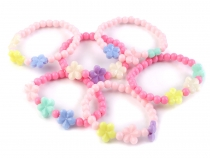Girls Jewellery - Bracelet with Flowers