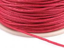 Cotton Waxed Cord Ø 1mm