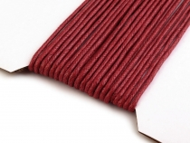 Cotton Waxed Cord Ø2 mm