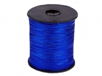 Flat Hollow Cord with Lurex width 1 mm