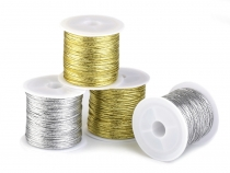 Flat String with Lurex width 1.1 mm