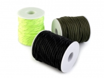 Polyester Cord Ø4 mm with Reflective Thread