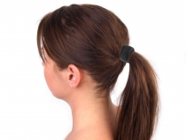 Circle Ring Hair Cuff Wrap Ponytail Holder