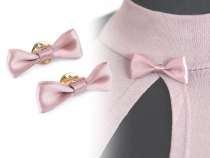 Bow on Pin / Mini Bow Tie to Lapel