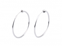 Hoop Earrings / Clip On Earrings / Fake Earrings Non Pierced