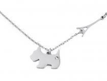 Stainless Steel Necklace - Dog, Paris