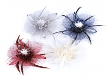 Fascinator / Brooch Flower