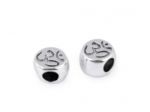 Metal Charm Bead 10x11 mm