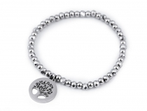 Stainless Steel Bracelet Tree of Life